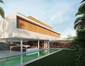 House 6 -mk27 - Exterior-Marcio Kogan 3D