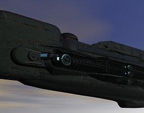 Federation Intergallactic Cruiser 3D print model