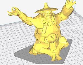 Dota 2 Storm Spirit With 2 Taunt 3D printable model