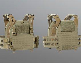 3D model SOLDIER Bulletproof Vest 05