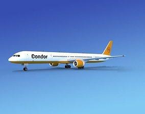 3D Boeing 757-300 Condor 1