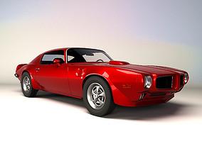 Firebirdmodel 1973 3D asset