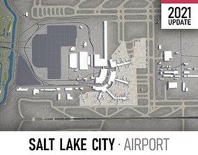 Salt Lake City Airport 3D model