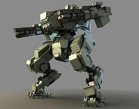 3D mech fighter 1