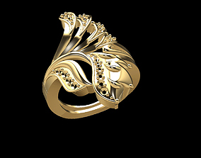 3D print model Gold ring 164