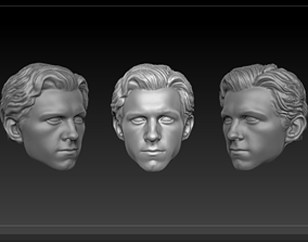 Head Peter Parker MCU version 3D print model