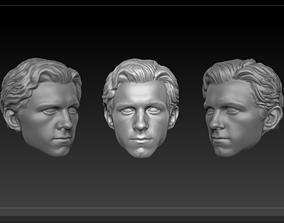3D printable model Head Peter Parker MCU version
