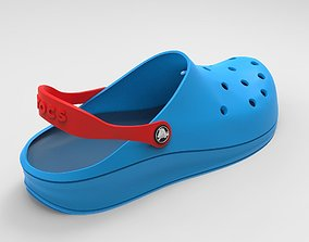 Crocs Shoes 3D model