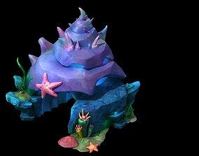 3D model shell house