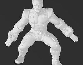 Marvel Xmen Classic Wolverine - 3D Print Model toys