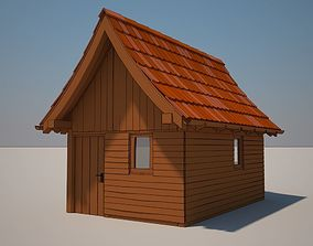 3D Cartoon Medieval House 05