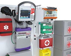 Ambulance Equipment 2 3D
