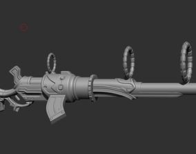Cosplay Props - Caitlyn Gun League Of 3D printable model