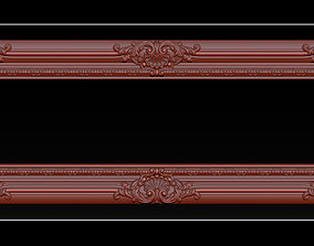 3D print model Classical carved frame