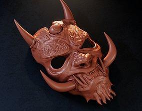 japan 3D printable model Japanese Oni Mask