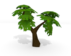Low Poly Tree 3D asset realtime