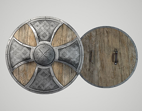 3D asset Shield Round