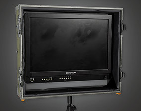 3D model Display Monitor 01a HLW - PBR Game