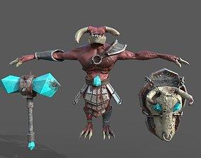 3D asset Dragon fighter