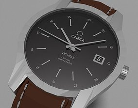 Branded Watch 3D asset