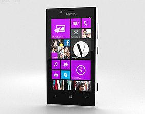 3D model Nokia Lumia 720 White