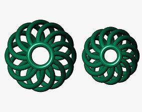 spherical beads 3D printable model