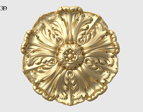 3D printable model Renaissance Rosette Flower