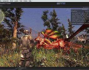 animated 3Dfoin - Dragon