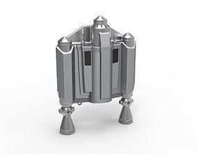 Jetpack from The Mandalorian TV 3D print model