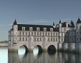 Low Poly Chateau-Castle - Inspired by Chateau 3D asset 2