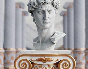 Head of David 3D model