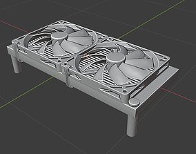 3D Radiator with fans