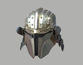 3D print model Ronin Mandalorian One12 Scale Figure Head