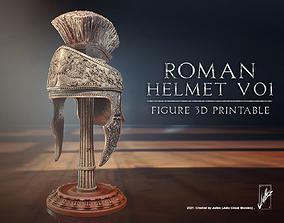 Roman helmet V01 3D printable model medieval