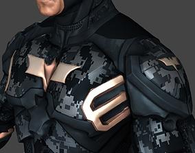 Batman Low Poly 3D model