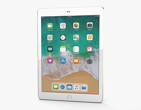 3D Apple iPad 9-7-inch 2018 Cellular Gold