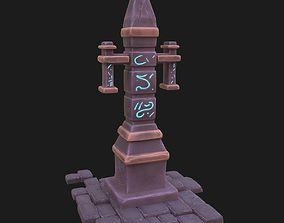 3D Obelisk ornament