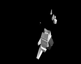 Star Ship Design 3D printable model