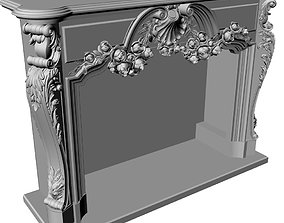 Fireplace - 3d model for cnc and print 14-1