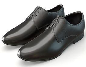 3D Black shoe