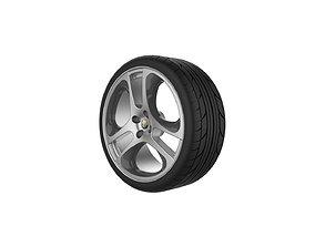 Alfa Romeo Mito Wheel 3D printable model