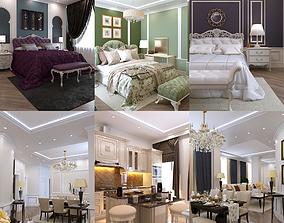 3D model interior Apartment 24