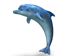 fish 3D Dolphin
