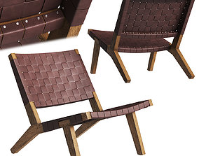 DE LA ESPADA 128 Lounge Chair 3D model
