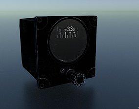 DIRECTIONAL GYRO GAUGE 3D asset