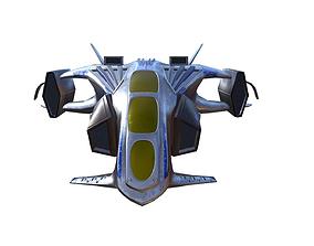 Scifi Fighter 3D asset