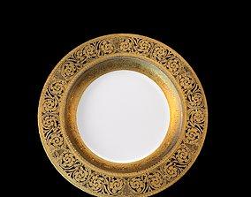 3D asset Bavarian China Dinner Plates