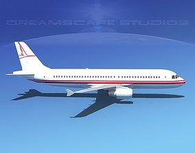 3D model Airbus A320 LP Corporate 3