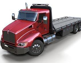 Kenworth t440 tow truck 3D model
