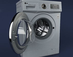 3D model LG Washing Machine